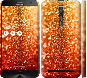 Чехол на Asus Zenfone 2 ZE551ML Звездная пыль