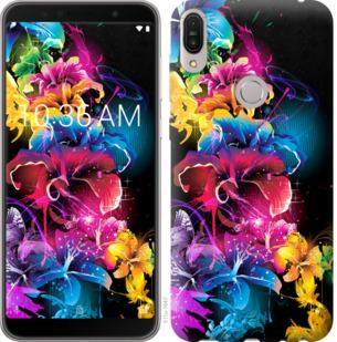 Чехол на Asus ZenFone Max Pro M1 ZB602KL Абстрактные цветы