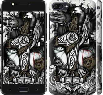 Чехол на Asus ZenFone 4 Max ZC520KL Тату Викинг