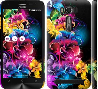 Чехол на Asus ZenFone 2 Laser ZE500KL Абстрактные цветы