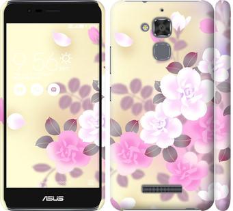 Чехол на Asus Zenfone 3 Max ZC520TL Японские цветы