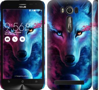 Чехол на Asus ZenFone 2 Laser ZE500KL Арт-волк