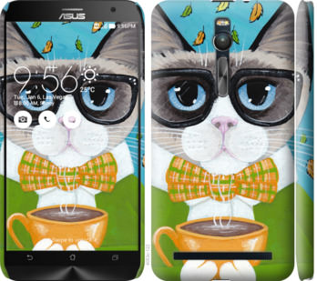 Чехол на Asus Zenfone 2 ZE551ML CatandCoffee