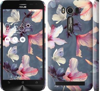 Чехол на Asus ZenFone 2 Laser ZE500KL Нарисованные цветы