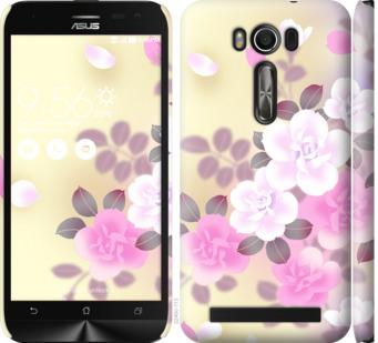 Чехол на Asus ZenFone 2 Laser ZE500KL Японские цветы
