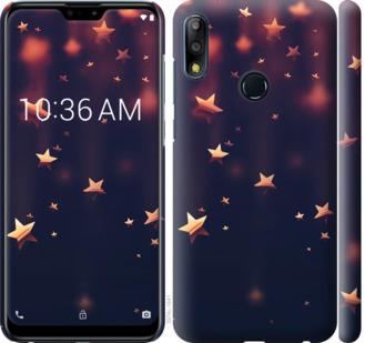 Чехол на Asus Zenfone Max Pro M2 ZB631KL Падающие звезды