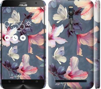Чехол на Asus Zenfone 2 ZE551ML Нарисованные цветы