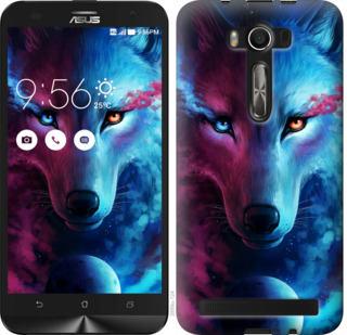 Чехол на Asus ZenFone 2 Laser 2 ZE550KL Арт-волк