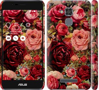 Чехол на Asus Zenfone 3 Max ZC520TL Цветущие розы