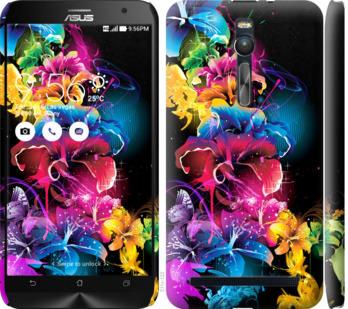 Чехол на Asus Zenfone 2 ZE551ML Абстрактные цветы