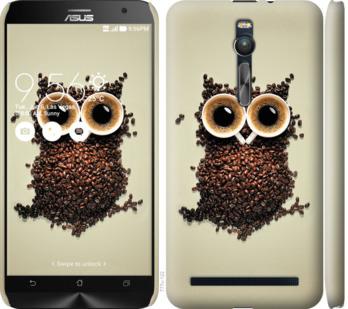 Чехол на Asus Zenfone 2 ZE551ML Сова из кофе