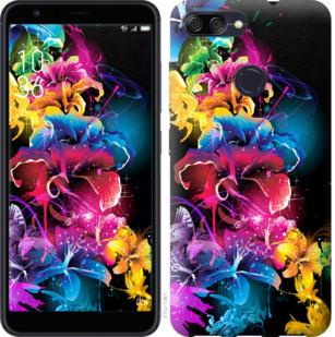 Чехол на Asus ZenFone Max Plus M1 ZB570TL Абстрактные цветы
