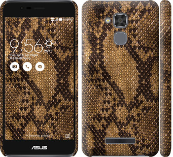 Чехол на Asus Zenfone 3 Max ZC520TL Змеиная кожа