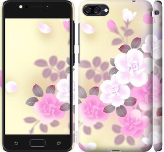 Чехол на Asus ZenFone 4 Max ZC554KL Японские цветы