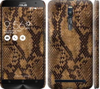 Чехол на Asus Zenfone 2 ZE551ML Змеиная кожа