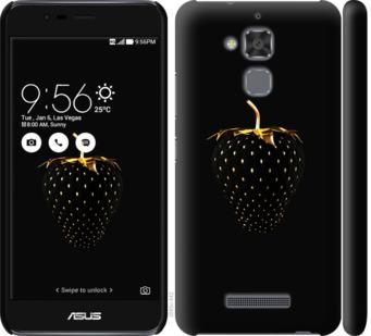 Чехол на Asus Zenfone 3 Max ZC520TL Черная клубника