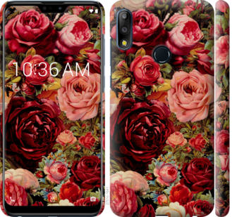 Чехол на Asus Zenfone Max Pro M2 ZB631KL Цветущие розы