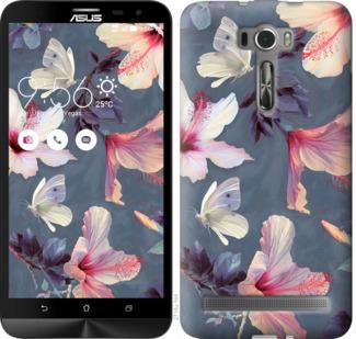 Чехол на Asus ZenFone 2 Laser ZE601KL Нарисованные цветы
