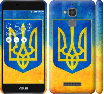 Чехол на Asus Zenfone 3 Max ZC520TL Герб Украины