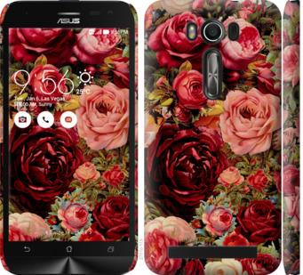 Чехол на Asus ZenFone 2 Laser ZE500KL Цветущие розы