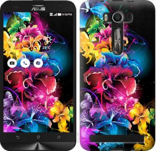 Чехол на Asus ZenFone 2 Laser 2 ZE550KL Абстрактные цветы