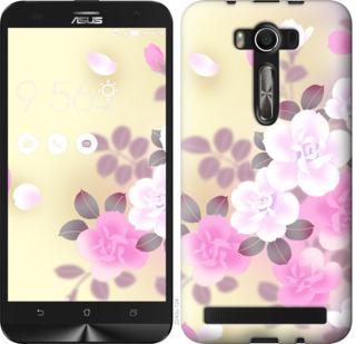 Чехол на Asus ZenFone 2 Laser 2 ZE550KL Японские цветы