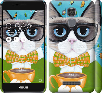 Чехол на Asus Zenfone 3 Max ZC520TL CatandCoffee