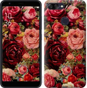 Чехол на Asus ZenFone Max Plus M1 ZB570TL Цветущие розы