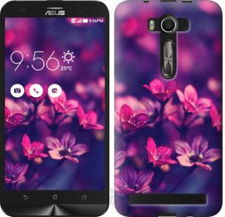 Чехол на Asus ZenFone 2 Laser 2 ZE550KL Пурпурные цветы