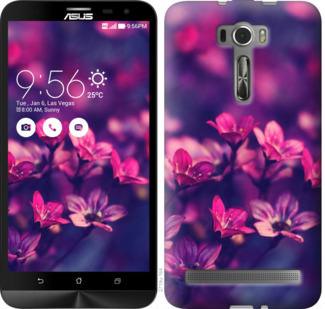Чехол на Asus ZenFone 2 Laser ZE601KL Пурпурные цветы