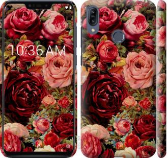 Чехол на Asus Zenfone Max M2 ZB633KL Цветущие розы