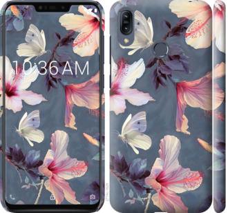 Чехол на Asus Zenfone Max M2 ZB633KL Нарисованные цветы