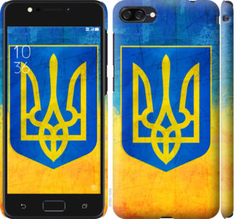 Чехол на Asus ZenFone 4 Max ZC554KL Герб Украины