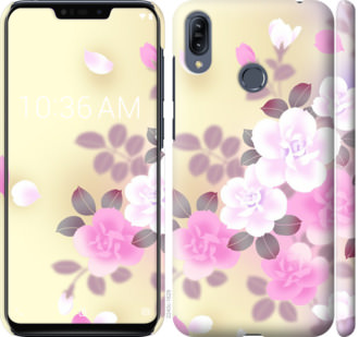 Чехол на Asus Zenfone Max M2 ZB633KL Японские цветы
