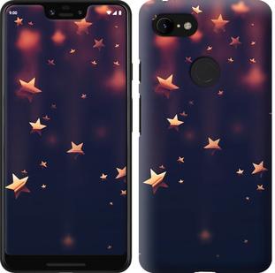 Чехол на Google Pixel 3 XL Падающие звезды
