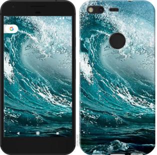 Чехол на Google PixeL 2 XL Морская волна
