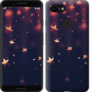 Чехол на Google Pixel 3 Падающие звезды