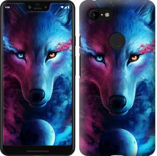 Чехол на Google Pixel 3 XL Арт-волк