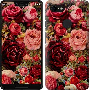 Чехол на Google Pixel 3 XL Цветущие розы