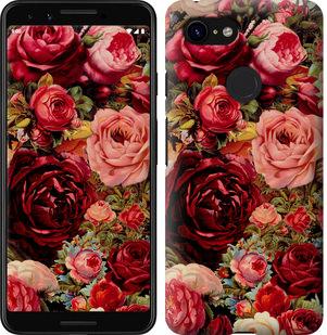 Чехол на Google Pixel 3 Цветущие розы