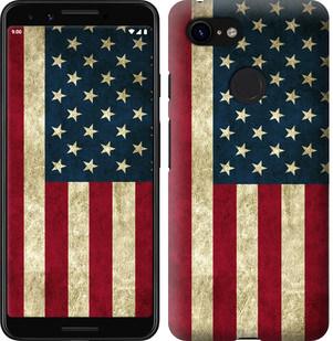 Чехол на Google Pixel 3 Флаг США