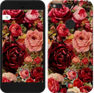 Чехол на Google PixeL 2 XL Цветущие розы