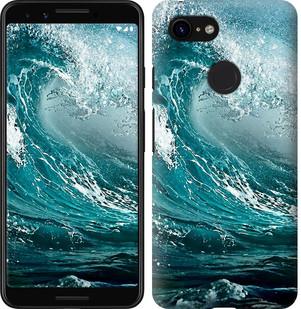 Чехол на Google Pixel 3 Морская волна