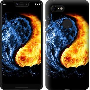 Чехол на Google Pixel 3 XL Инь-Янь