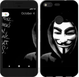 Чехол на Google PixeL 2 XL Анонимус