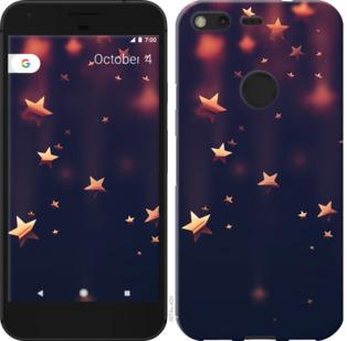 Чехол на Google PixeL 2 XL Падающие звезды