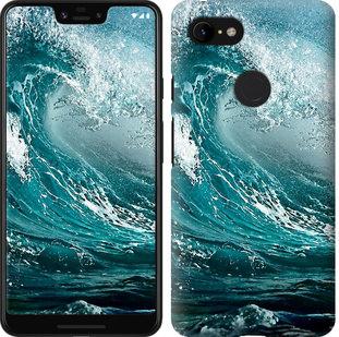 Чехол на Google Pixel 3 XL Морская волна