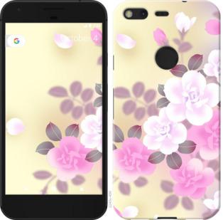 Чехол на Google PixeL 2 XL Японские цветы