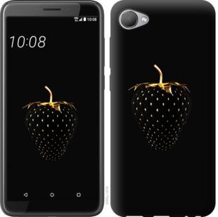 Чехол на HTC Desire 12 Черная клубника