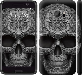 Чехол на HTC 10 skull-ornament